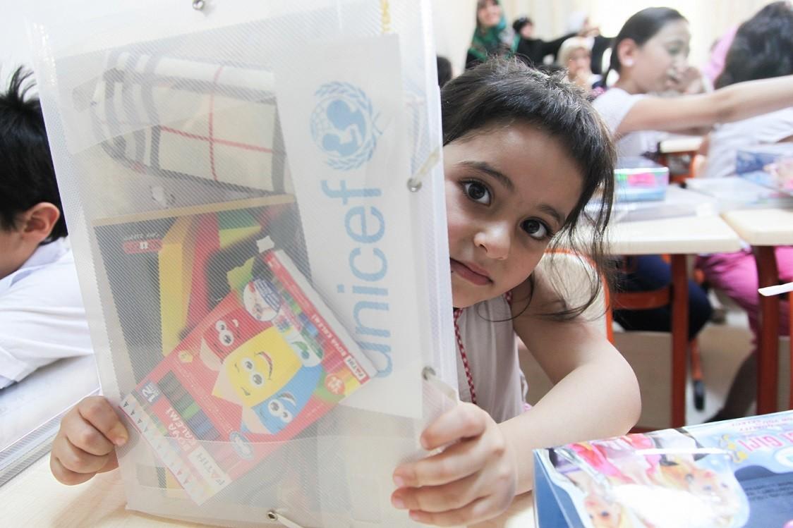 Fotoğraf © UNICEF/Turkey2014/Feyzioglu